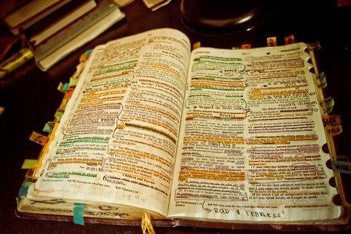 biblia marcada
