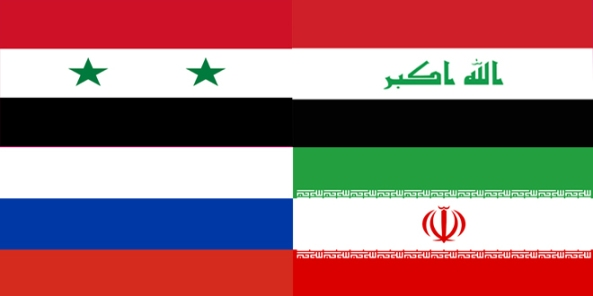 Syrian-Russian-Iraqi-Iranian-flags