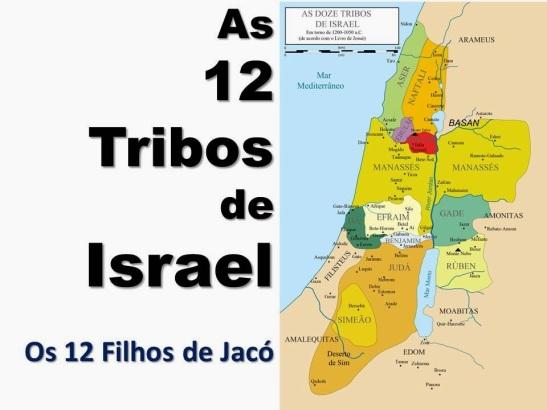 As 12 Tribos e os 12 Filhos de Jacó